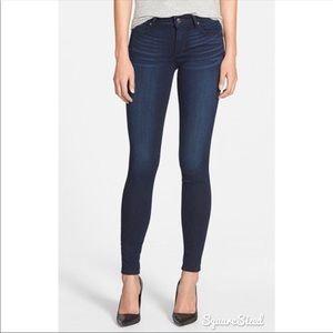 Joe's Jeans high rise dark wash skinny ankle jeans